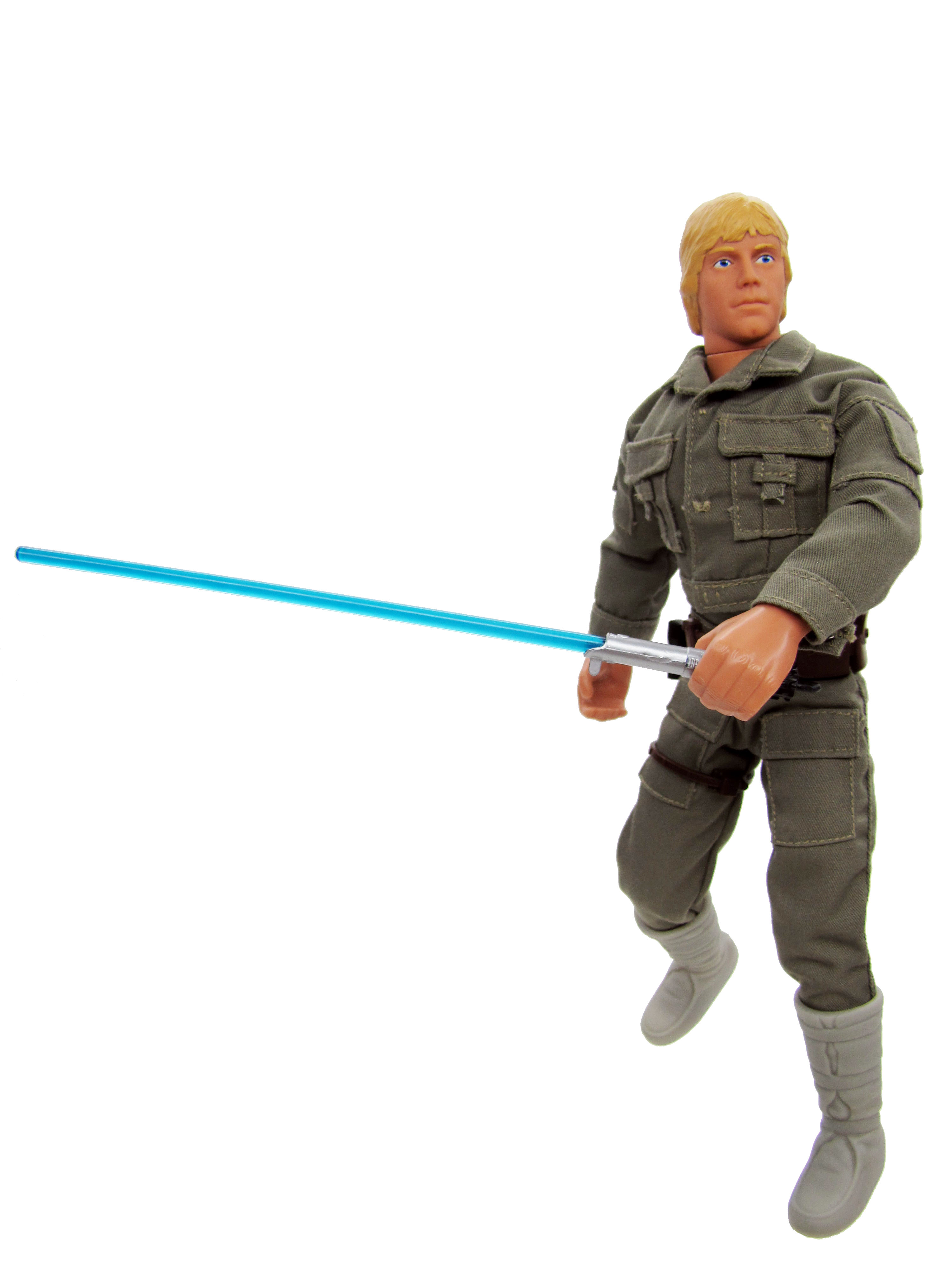"1996 Star Wars POTF2 12"" LUKE SKYWALKER IN BESPIN FATIGUES"